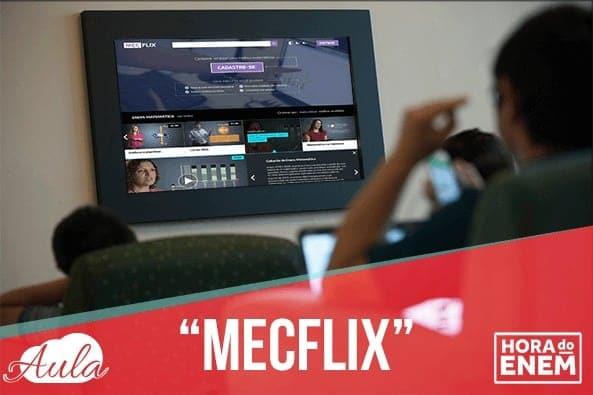 MECFlix o portal de estudos