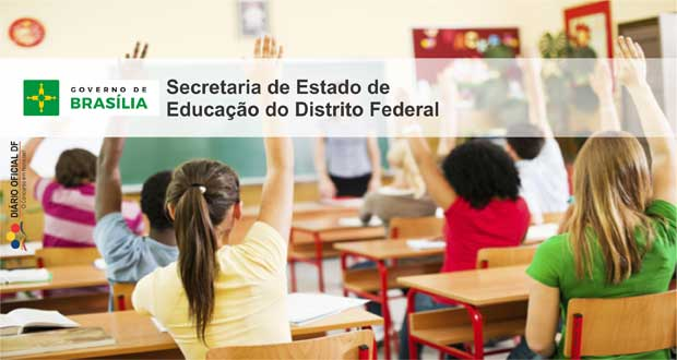 concurso Secretaria de Educação DF