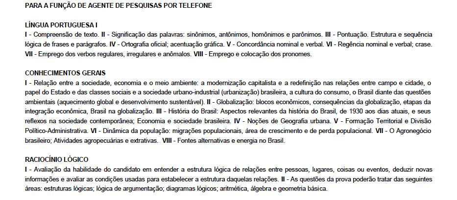 conteudo-prova-ibge-agente-de-pesquisas-por-telefone