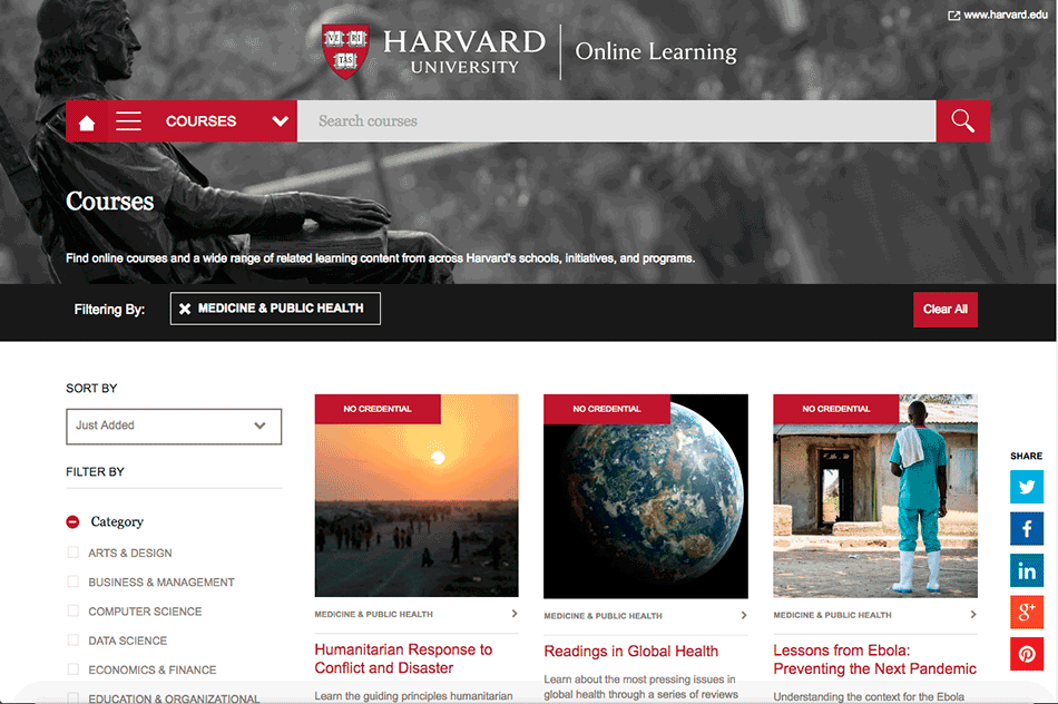 estude em Harvard