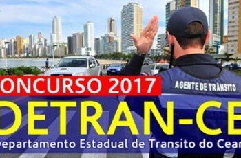 Ceará terá concurso Detran-Ce e Agepen com 1.300 vagas