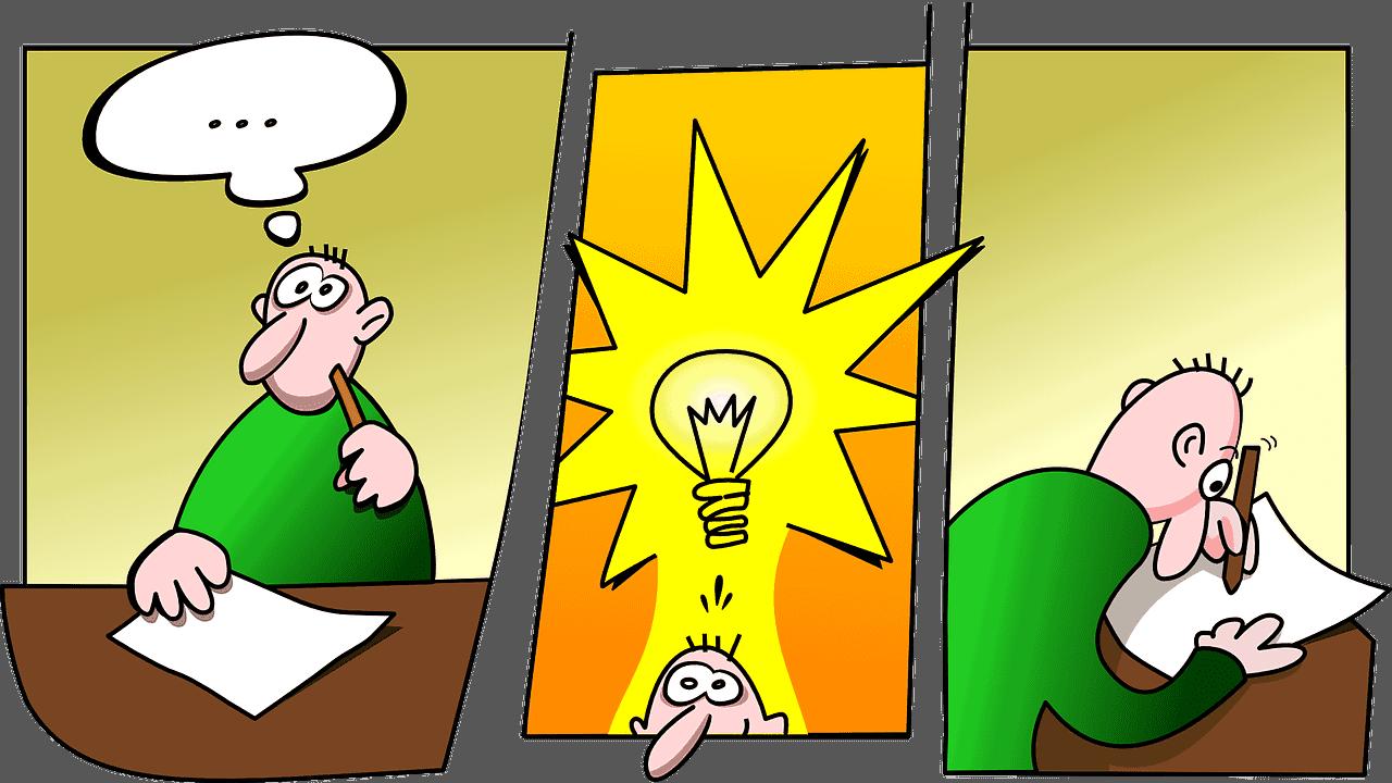 organizar ideias para redação