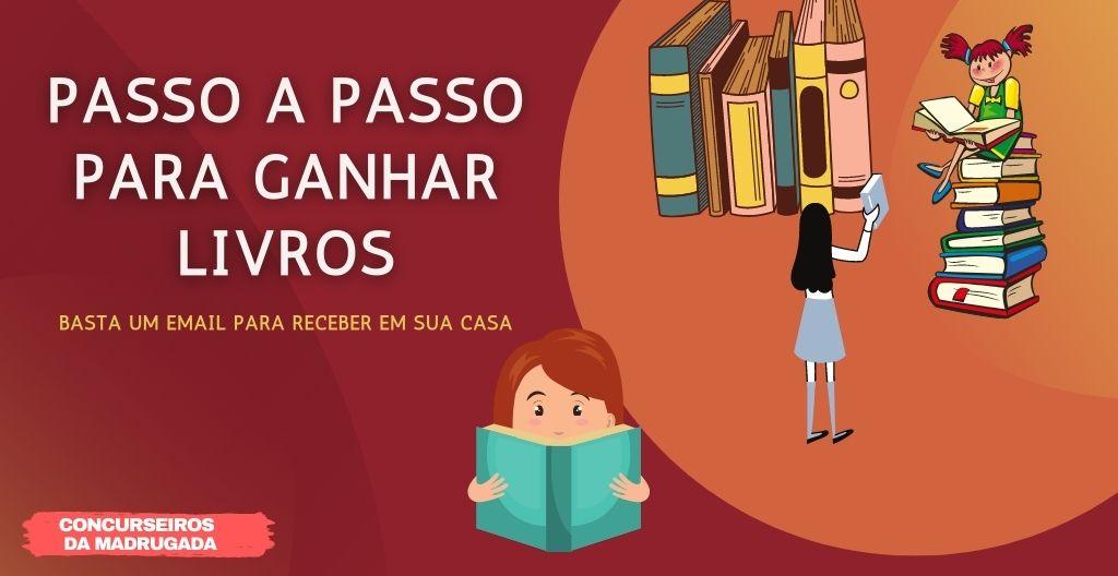 Receber Livros Gratuitos do Governo Para Concurso Público